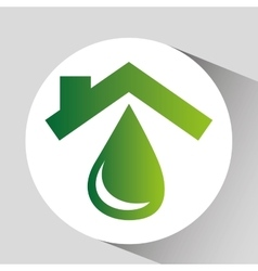 concept environment water icon graphic vector image