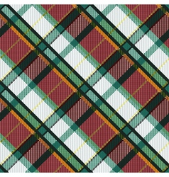 Checkered diagonal tartan seamless texture vector