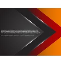 background overlap dimension modern line bar vector image