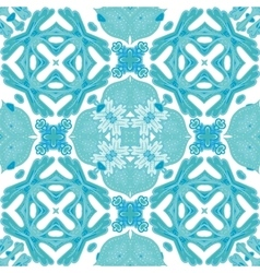 Damask seamless pattern background moroccan vector