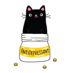 Cat and antidepressant vector