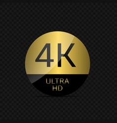 4 k ultra hd vector