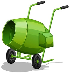 Cement mixer vector