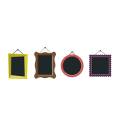 frames flat icon vector image vector image
