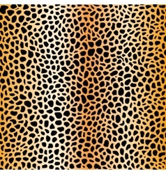 Fur spots seamless pattern gold mesh vector