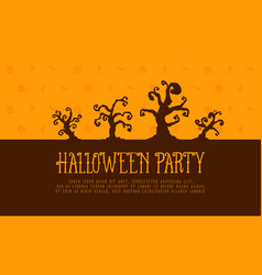 halloween party background style collection vector image