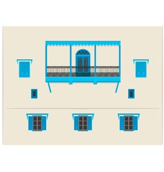 Indian building vector