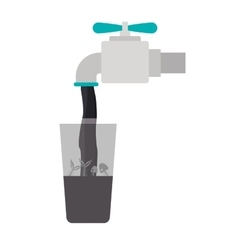 Isolated tap design vector