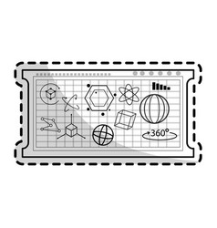 Mathematical calculations icon image vector