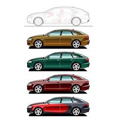 Liftback vector image