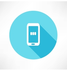 Charging - Smart Phone vector image