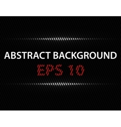 black background with light line vector image