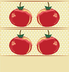 Abstract apples vector
