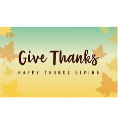 Background style for thanksgiving celebration vector