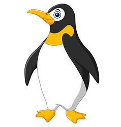 Cute funny emperor penguin vector image vector image