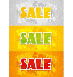 Sale Color vector image vector image