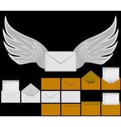 Set of envelopes vector