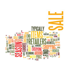 Everyone loves a sale text background word cloud vector