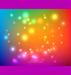 Abstract blurred bright colorful background vector