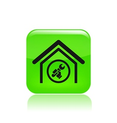 house repair icon vector image vector image