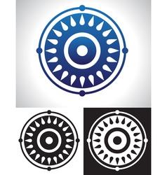 Mandala symbolism vector