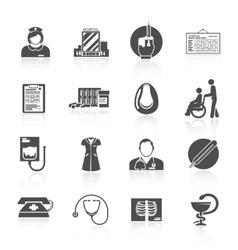 Nurse Icon Set vector image