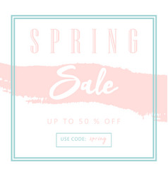 Trendy sale banner design vector