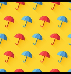 umbrella pattern vector image