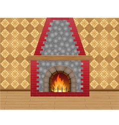 Fireplace 02 vector