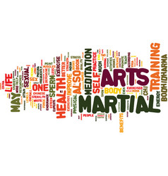 Martial arts and sexual health text background vector