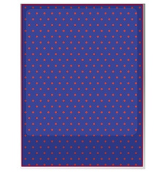 Table cloth with polka dots vector