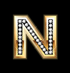 n bling vector image
