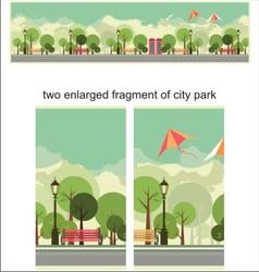 City park vector