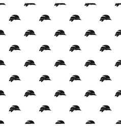 Construction helmet pattern simple style vector