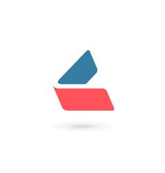 letter l logo icon design template elements vector image vector image