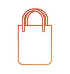 paper bag gift shopping commerce market vector image vector image
