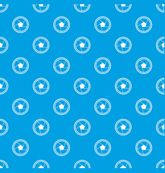 photo objective pattern seamless blue vector image vector image