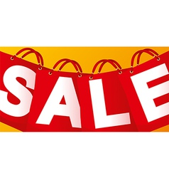 Sale on red packet vector image vector image