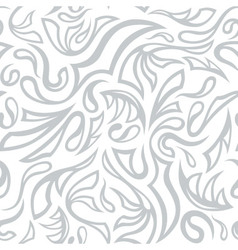 Seamless frost hand-drawn pattern vector image vector image
