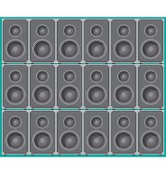 Speaker boxes vector