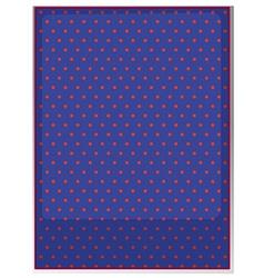 Table cloth with polka dots vector image