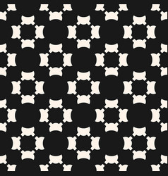 universal seamless pattern simple black white vector image vector image
