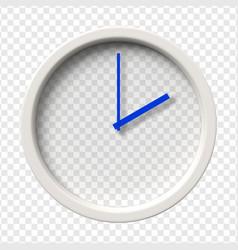 Realistic wall clock vector