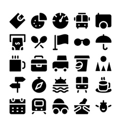 Travel icons 11 vector