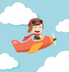 Pilot Boy vector image