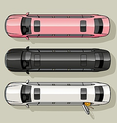 Limo set vector