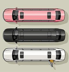 Limo Set vector image