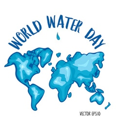 World water day vector