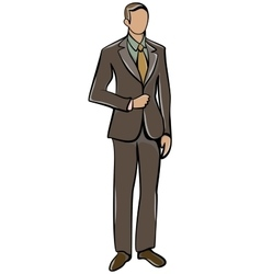Anonymous Man Avatar vector image vector image