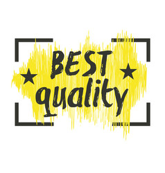 Best quality hand drawn isolated label vector